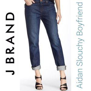 J Brand | Aidan Slouchy Boyfriend Mid Rise Jeans